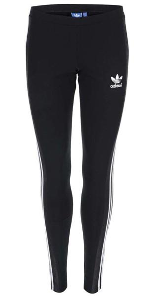Černé sportovní dámské legíny Adidas