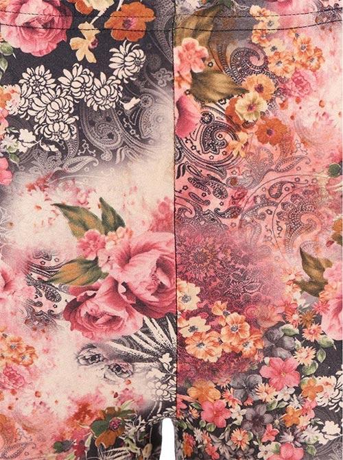 Růžové dámské legíny