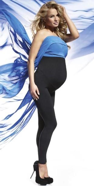 Těhotenské legíny Anabel s vysokým pasem
