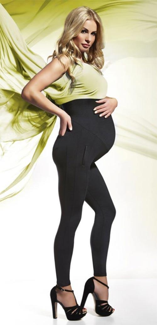 Dámské legíny pro těhotné Bas Bleu Melanie