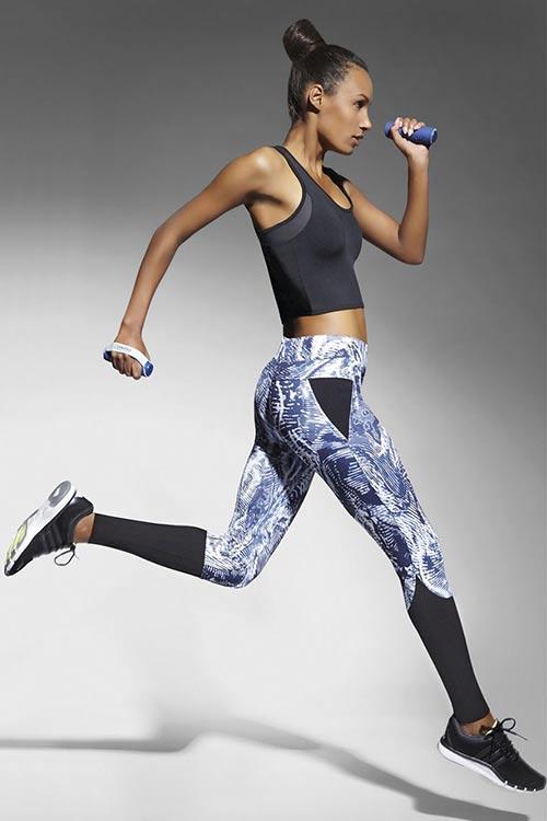 Sportovní legíny Trixi odvádějící tělesnou vlhkost
