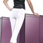 Dámské luxusní tříčtvrteční kalhotové legíny s kapsami
