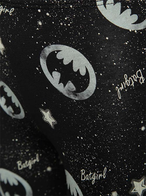 Batmanovské legíny s potiskem