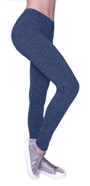 Pohodlné modré legíny Shepa Lazy Lady