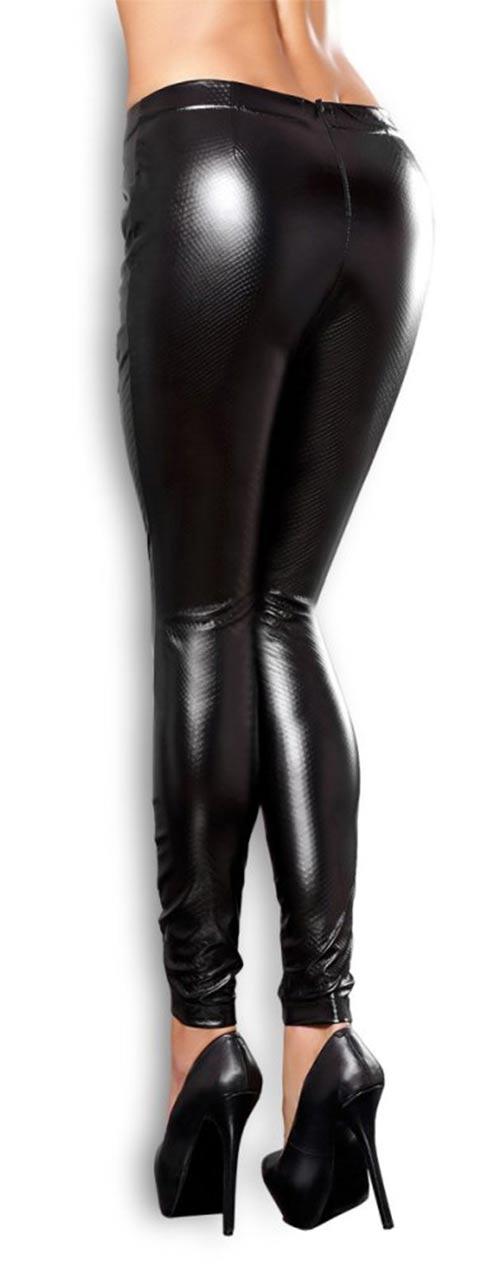 Sexy černé lesklé legíny fac6ba907f