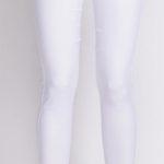 Bílé kalhotové legíny Avaro