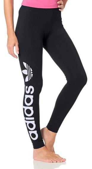 Legíny s nápisem Adidas