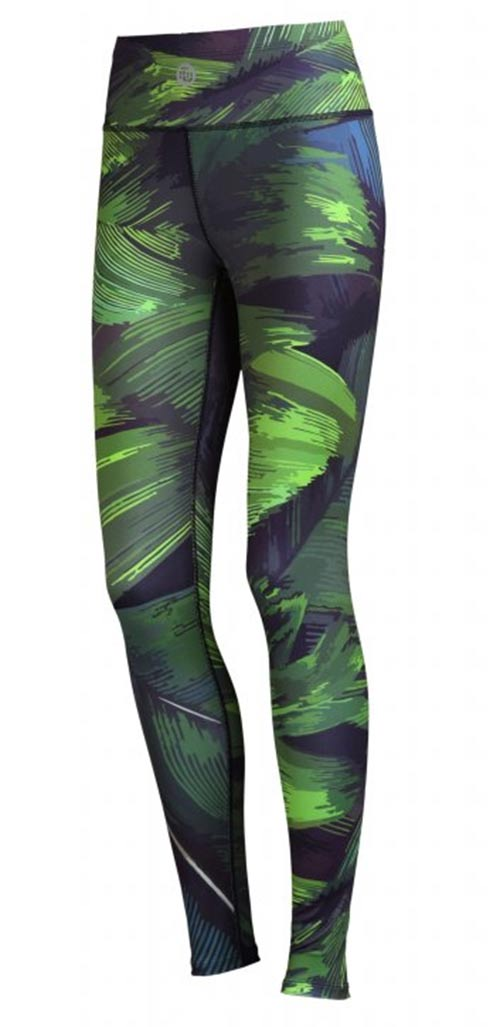 Běžecké/Fitness Legíny OSLK62 - Green Feather