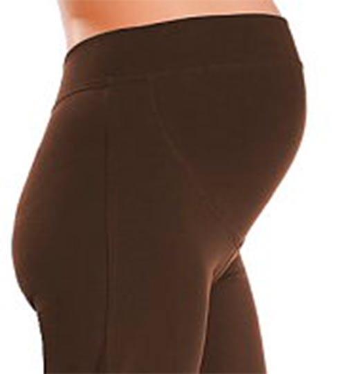 Pohodlné těhotenské kalhoty