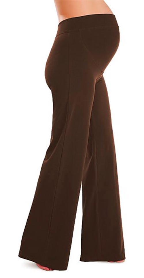 Těhotenské kalhoty (legíny) Litex