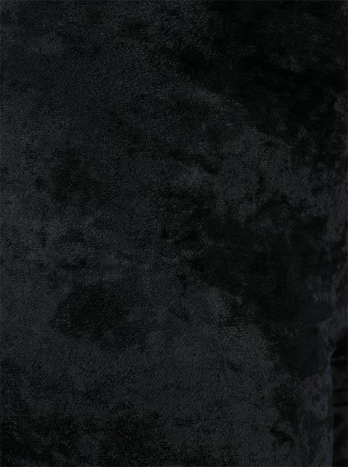 Jemná sametová látka