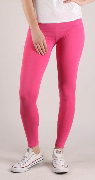 Levné růžové legíny Terranova Pantalone