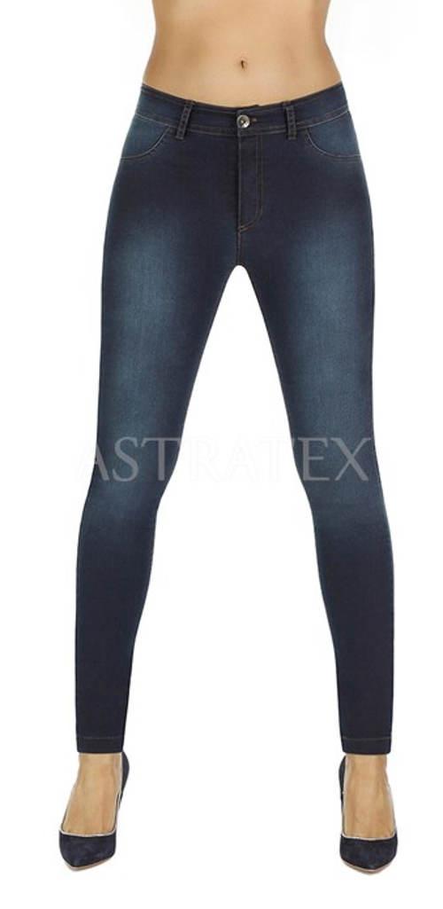 Legínová imitace džínů