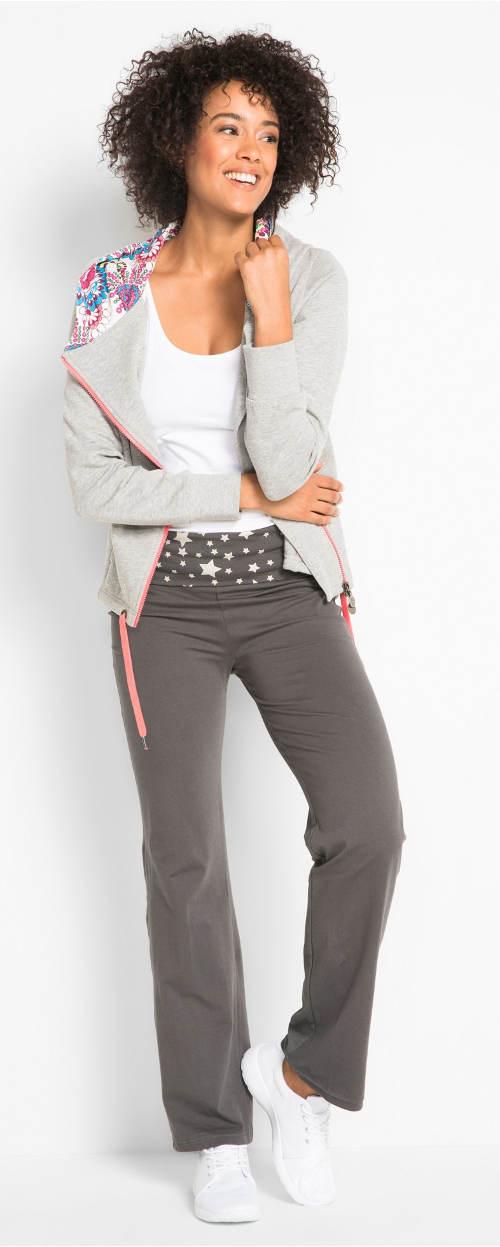 Dámské kalhoty s hvězdičkami