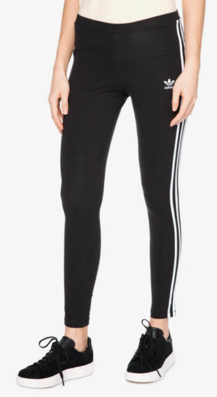 Klasické černé sportovní legíny Adidas