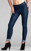 Legíny v džínovém vzhledu