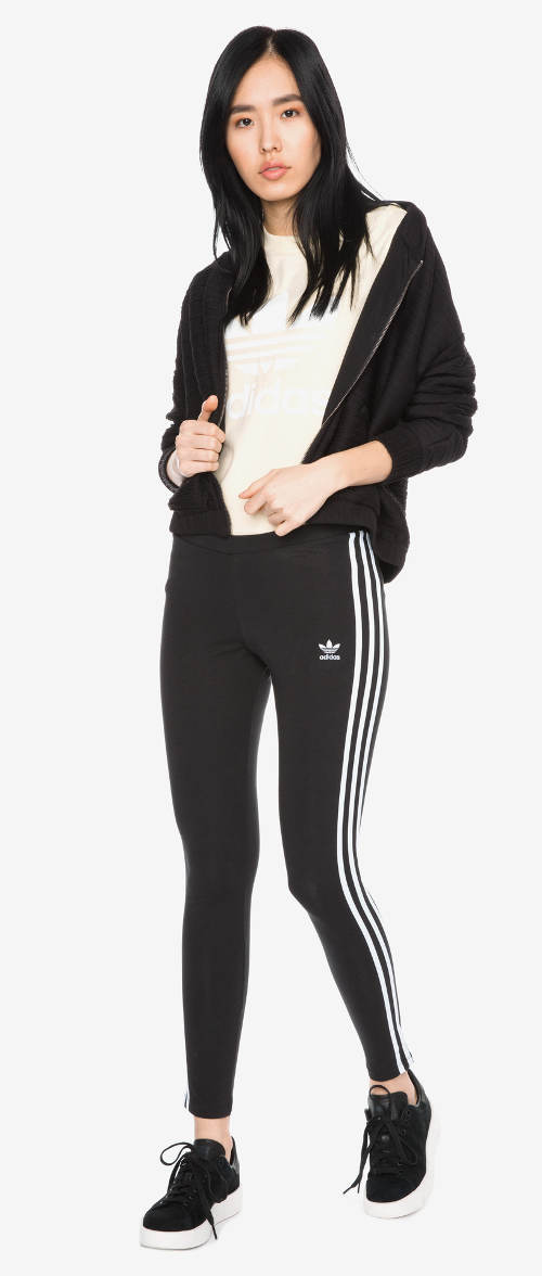 Levné legíny do fitka Adidas