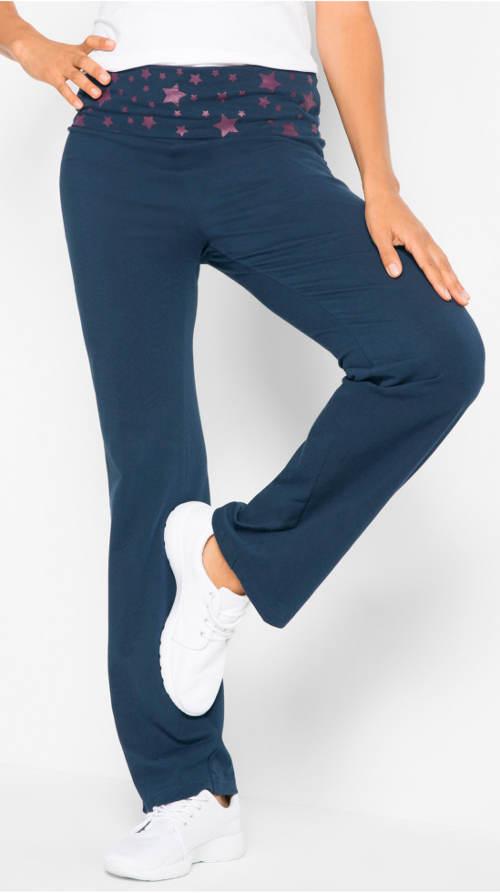 Úpletové sportovní dámské kalhoty