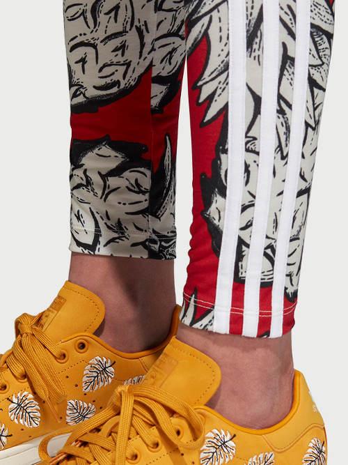 Barevné sportovní legíny Adidas