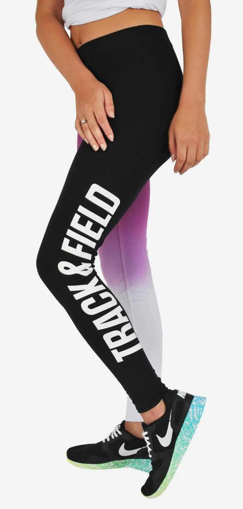 Barevné běžecké legíny Nike