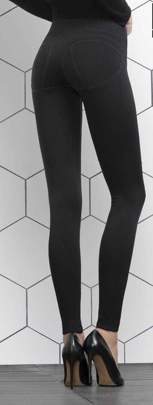 Černé kalhotové legíny Gatta Evoly