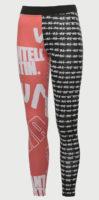 Legíny Puma s každou nohavicí jiné barvy
