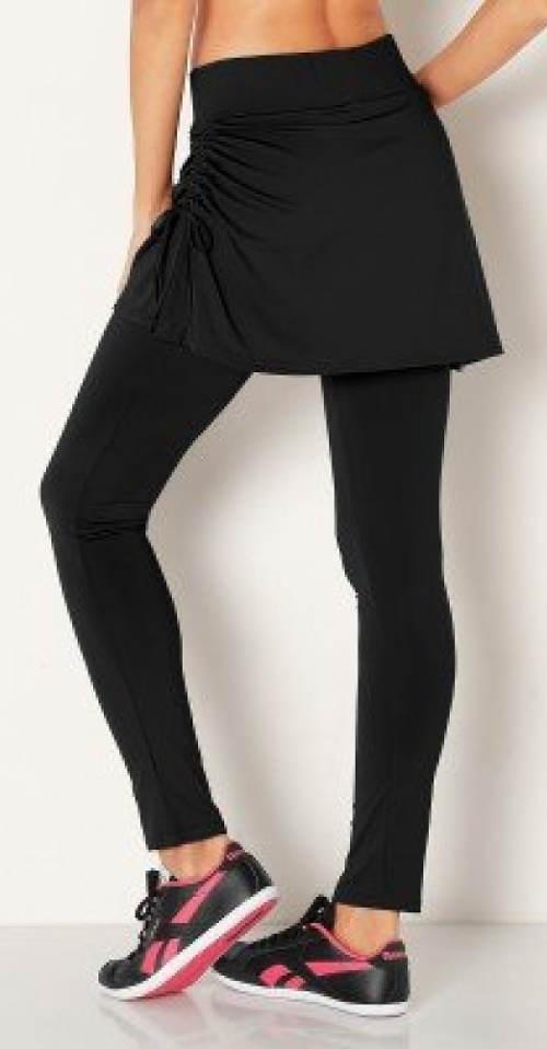 Legíny s tenisovou sukní