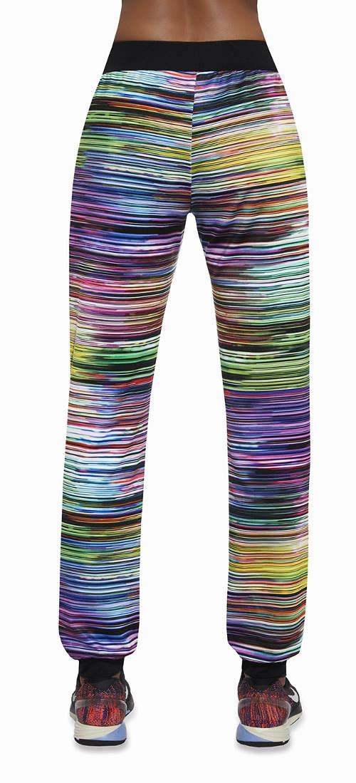 Volné sportovní legínové kalhoty