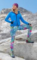 Flexibil Slim Fit běžecké legíny
