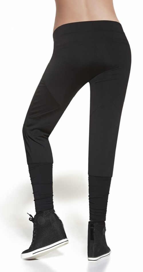 Legíny imitující harémové kalhoty