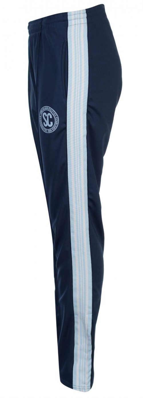 Modré dámské sportovní kalhoty