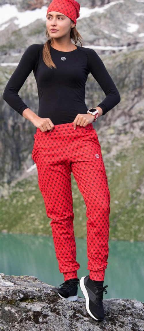 Zimní sportovní kalhoty s pohodlným pásem