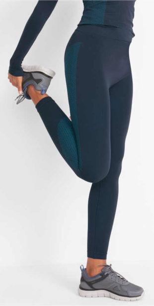 Bezešvé sportovní dámské termo legíny Bonprix