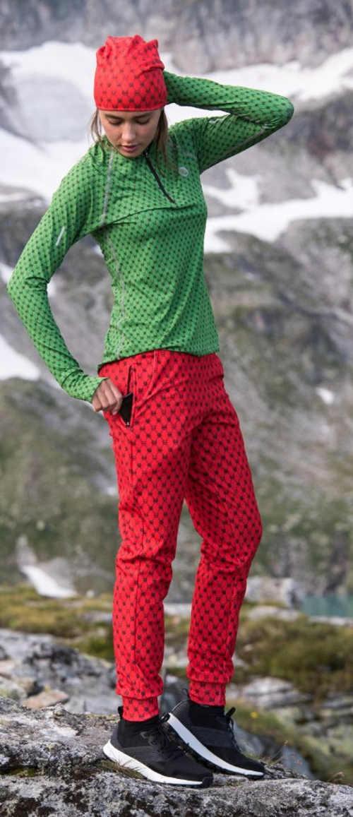 Dámské běžecké kalhoty na zimu