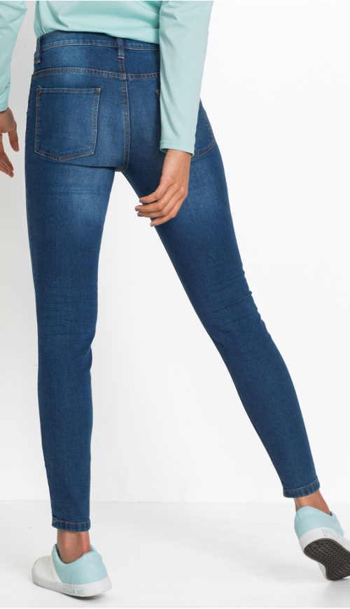 Levné dámské skinny džíny