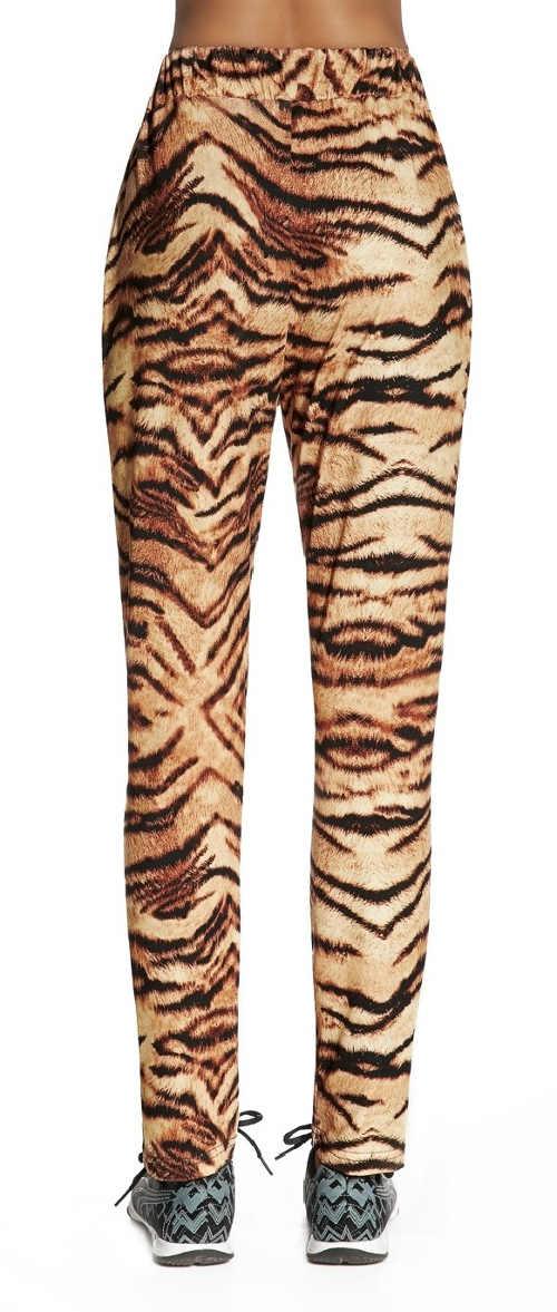 Dámské tygří legíny na cvičení