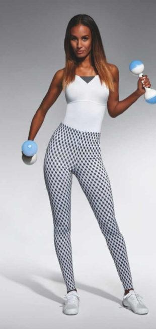 Komfortní dámské sportovní legíny v moderním designu