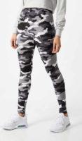 Legíny v nadčasovém army stylu s dlouhými nohavicemi
