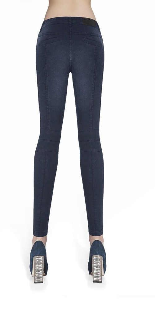moderní pohodlné jeansové legíny