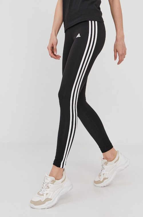 Dámské bavlněné legíny Adidas s dlouhými nohavicemi