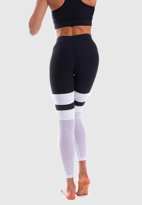 dlouhé sportovní legíny NET Stripes