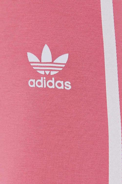 růžové dámské legíny Adidas